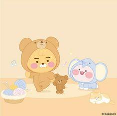 Apeach Kakao, Kakao Friends, Cute Characters, Fictional Characters, Line Friends, Kawaii Anime Girl, Cute Designs, Homescreen, Cute Drawings
