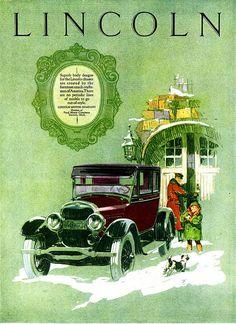 1925 Publicidad Lincoln.