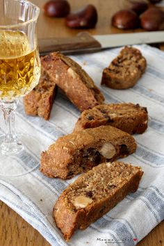 Veg Recipes, Wine Recipes, Gluten Free Recipes, Italian Recipes, Cookie Recipes, Healthy Recipes, Italian Biscotti Recipe, Pastry And Bakery, Lactose Free