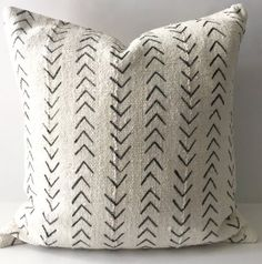 African Mudcloth Pillow Cover Ethnic by HomegirlCollection on Etsy Seat cushions?
