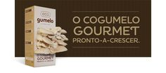 Cogumelo Gourmet Pronto-a-crescer Goodies, Green Products, Eat, Portugal, Food, Gourmet, Mushrooms, Topcoat, Bottle