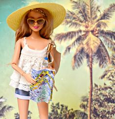 Barbie on vacation