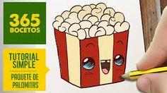 Resultado de imagen de 365bocetos comida 365 Kawaii, Kawaii Chibi, Kawaii Art, Tumblr Drawings, Doodle Drawings, Doodle Art, Cute Easy Drawings, Cute Kawaii Drawings, Food Drawing