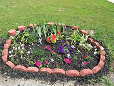 The DIY Beautiful Flower Bed Designs and Plans for your Adorable . - Flower Beds and Gardens Simple Flower Bed Ideas, Simple Flowers, Amazing Flowers, Flower Garden Layouts, Flower Garden Design, Garden Design Plans, Vegetable Garden Design, Flower Bed Edging, Flower Beds