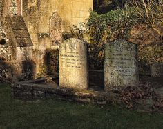 The graves of Jane Austen's mother and sister at Chawton in Hampshire    		Mother (d. 1827) and daughter (d. 1845) were both named Cassandra. The  church is in the grounds of Chawton House, the home of Jane Austen's  Brother, Edward Austen-Knight