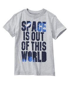 Space Is Out Of This World Tee at Crazy 8