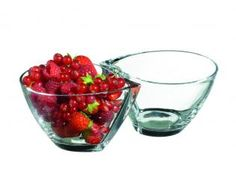 #RCR Crystal, Bowl Frutta Ø13.5cm, Set of 2 Crystal Glass / Cristallin  No sales in Italie 11500pcs
