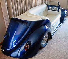 Recycled Car Part Awesome Sofa