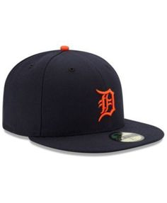 new product 2f8b6 41a0a New Era Detroit Tigers Authentic Collection 59FIFTY Cap