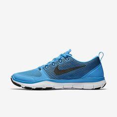 brand new 9afcb a4438 Nike Free Train Versatility Blue Glow-White-Black Mens Training Shoe