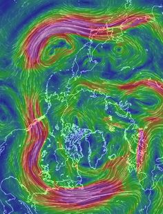 When Science is Art: a New Map of Wind Patterns - Technology Org
