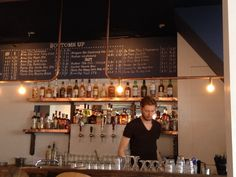 Bar Brouw West in Amsterdam, Noord-Holland