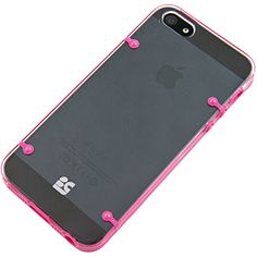 AquaFlex V2 Cover for #iPhone 5, Hot Pink/Clear $14.99 From #DayDeal