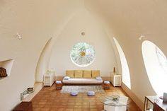 Earth House, Auroville, India
