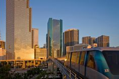 Use the Metro Mover to take a ride through downtown Miami. The best thing: the ride is for free!
