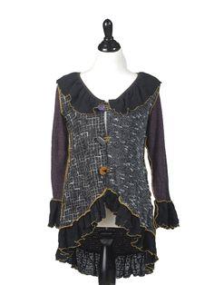 Hand Jive Store - Ruffle Love Cardigan, $98.00 (http://handjiveclothing.mybigcommerce.com/ruffle-love-cardigan/)