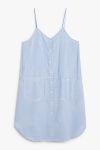 Striped dress - Blue - Monki