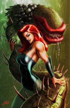 Harley Quinn Poison Ivy Catwoman   Best Female Comic Book Character - bracketgeek.com