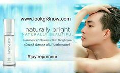 Do guys want nicer clearer skin? You bet! Created by world-renowned board-certified dermatologist Dr. Nathan Newman Luminesce Flawless Skin Brightener by Jeunesse can be used on the face and anywhere else you wish to lighten the appearance of dark spots and other signs of aging such as wrinkles and fine lines. Click link in bio. #joytrepreneur #lookgr8now #jeunesse #luminesce #skincare #flawless