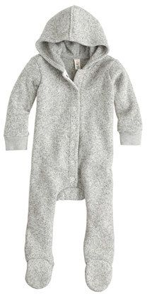 Baby Summit fleece footsie coverall // #gift guide # minis // lifeofthelane.com