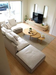 60 beautiful minimalist home decor ideas 54 Home Room Design, Home Design Plans, Living Room Designs, Japanese Living Rooms, Japanese Home Decor, Bedroom Minimalist, Minimalist Home Decor, Condo Interior, Home Interior Design