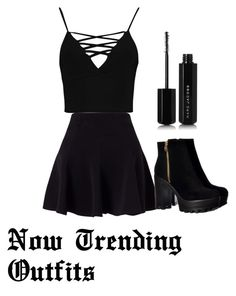 """Untitled #6"" by amber231-318 on Polyvore featuring Miss Selfridge, Boohoo and Marc Jacobs"