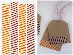 Instant Craftification : DIY Yipes Stripes Washi Tape - Yup