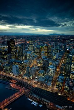 Melbourne City | by atoulmin