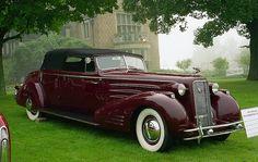 1934 Cadillac V-16 convertible victoria