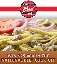 Win $25,000 in the National Beef Cook-Off