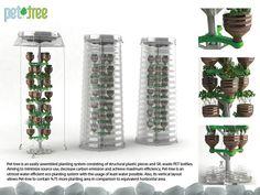 Designer turco cria 'árvores' a partir de garrafas PET - Assuntos Criativos