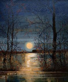 Moon by StudioUndertheMoon.deviantart.com on @deviantART