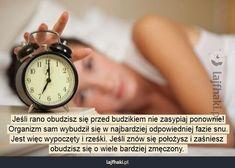 Lajfhaki.pl - Jeśli rano obudzisz się przed budzikiem nie zasypiaj ponownie! Organizm sam wybudził się w najbardziej odpowiedniej fazie snu. Jest więc wypoczęty i rześki. Jeśli znów się położysz i zaśniesz obudzisz się o wiele bardziej zmęczony.