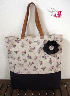 handmade tote bag Tote Bags Handmade