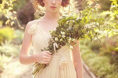 Wild-looking arm bouquet #armbouquet #green #wild