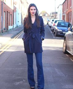 Flares are a huge hit this season, here's one way to style them. Peexo personal style.