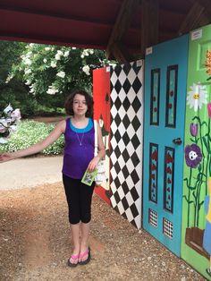 Huntsville Botanical Gardens Alice on Wonderland 2014