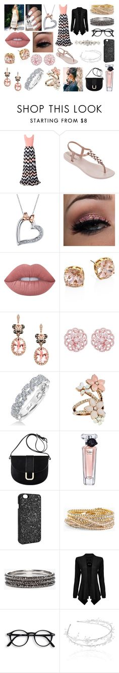 """1D movie premiere with Perrie Edwards"" by kitty-styles-horan-biedka ❤ liked on Polyvore featuring Chicnova Fashion, IPANEMA, Disney, Lime Crime, Tory Burch, Effy Jewelry, Karl Lagerfeld, Accessorize, A.P.C. and Lancôme"