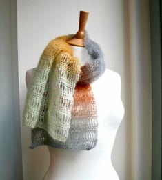 bf204000b83 Silver Cloud Scarf Crochet Pattern Bufandas
