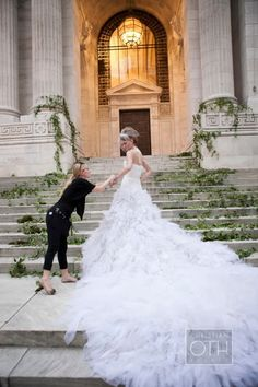 New York Public Library Wedding Campaign with Stylist Jacqueline Weppner of Merci New York