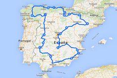 España es un país muy apto para recorrerse en coche. En caso de que quieras visitar de tacada todas y cada una de las comunidades, aquí tienes t... Spain Places To Visit, Travelling Tips, Traveling, Travel Around, Rv Travel, Places To Travel, Travel Tips, Road Trip Quotes, Travel Quotes