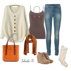 """""""Casual Fall/Winter Outfit-Over 40 Fashion"""" by sheila-r on Polyvore"""