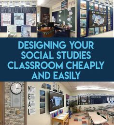 Want to improve the look of your classroom without spending too much money yours. - Want to improve the look of your classroom without spending too much money yourself? Read Peacefield History's suggestions! 7th Grade Social Studies, Social Studies Classroom, Middle School Classroom, Teaching Social Studies, Teaching History, History Teachers, History Education, Future Classroom, Art Education