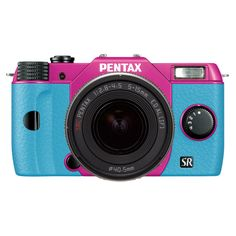 Q10 Zoomlens Kit Pink Aqua