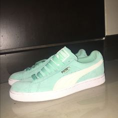 best service ab5ee d786e Shop Women s Puma Blue size 7 Sneakers at a discounted price at Poshmark.  Description