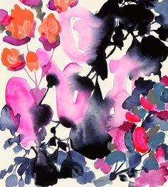 Watercolour flowers - Jen Garrido