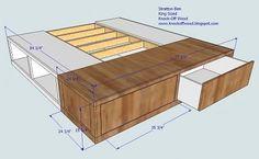 cool storage bed base