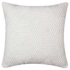 PURCHASED Nate Berkus™ Heavy Embroidered Pillow - Gray