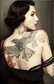 Tips para mujeres: 10 Fotos de Tatuajes creativos para mujeres