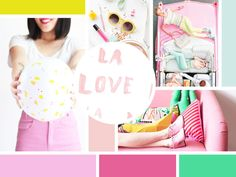 Moodboard by Rekita Nicole Sources: Balloon Pink Couch, Day And Mood, Brand Board, Finger Painting, Creating A Brand, Blog Tips, Graphic Design Inspiration, Logo Branding, Mood Boards